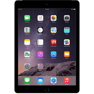 iPad - Space Grey on transparent background